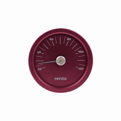 Rento Thermometer Rond Roze