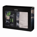 Rento Gift Set Sauna scent & Seat cover Birch